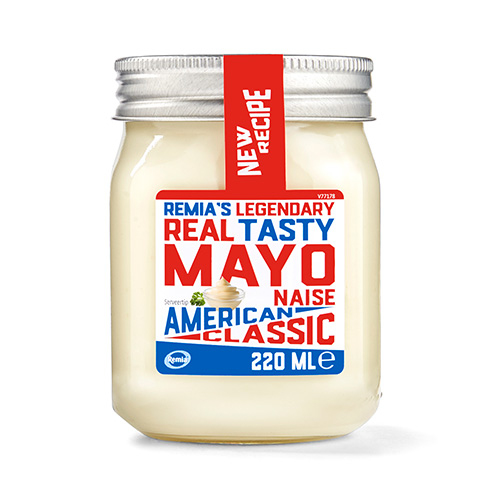 Remia's Legendary Real Tasty Mayo - American Classic