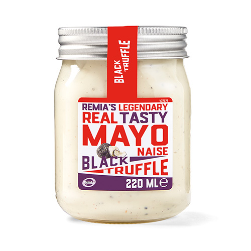 Remia's Legendary Real Tasty Mayo - Black Truffle