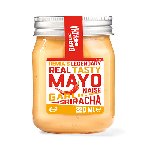 Remia's Legendary Real Tasty Mayo - Garlic Sriracha