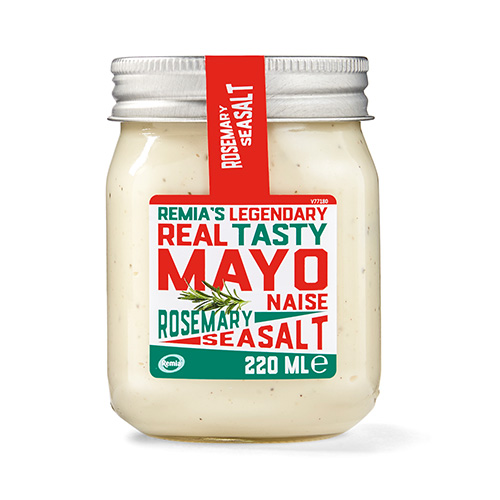 Remia's Legendary Real Tasty Mayo - Rosemary Seasalt