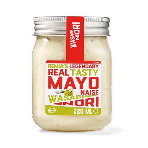 Remia's Legendary Real Tasty Mayo - Wasabi Nori