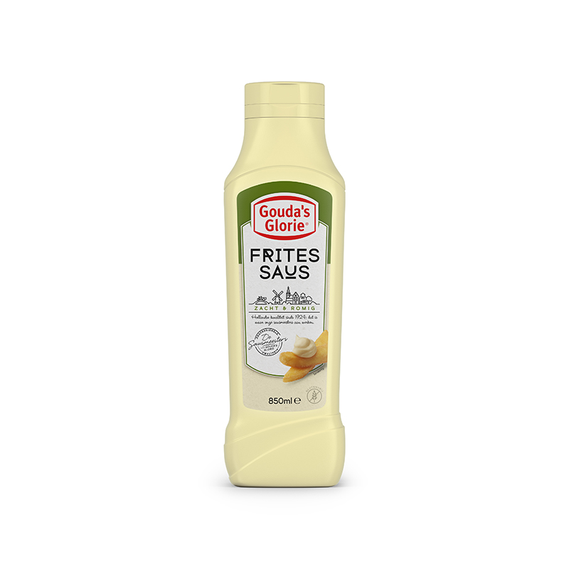 Fritessauce squeeze bottle 850ml
