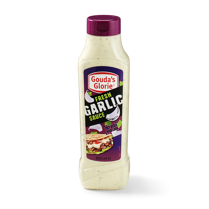 Garlic Sauce squeeze bottle 850ml