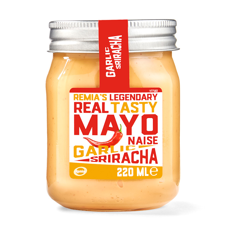 Legendary Real Tasty Mayonaise Garlic Sriracha 220ml
