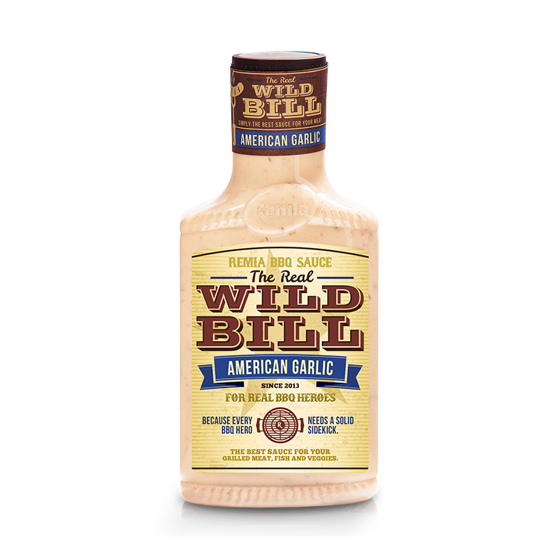 Wild Bill - American Garlic Sauce 450ml