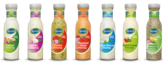 Remia S All Improved And Natural 250 Ml Salad Dressing
