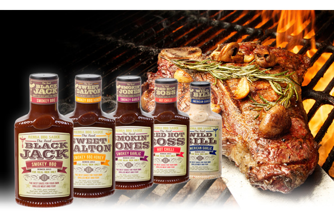 Remia Real American Bbq Grill Sauces Remia International