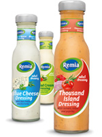 Remia's new Salad Dressings