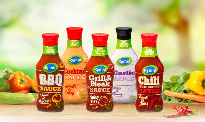 Remia Party Sauces
